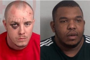 two men who were found in possession of knife following a disturbance in harlow have been jailed
