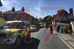 updatedemergency services called to godshill after an explosion