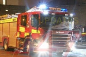 updatedfire crews called to chobham car dealership after domestic bonfire