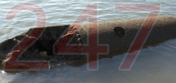 updatedgerman sea mine caught in fishing boat net set to be detonated off the west coast of the isle of wight