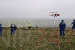 updatedmajor emergency response following incident on culver down on the isle of wight