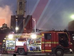 updatedten fire appliances have been mobilised to a major fire onboard a ship in southampton