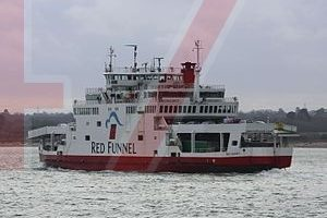 woman crushed between two car on isle of wight ferry