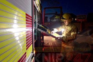 yobs teens set isle of wight forest alight