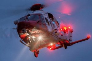 coastguard rescue helicopter called to guernsey hospital