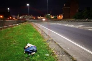 concerned for safety of this young man were raised police found him on the a66