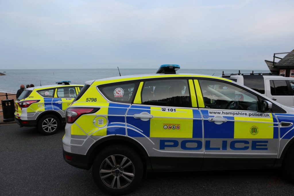 Emergency Services Called To Ventnor Seafront