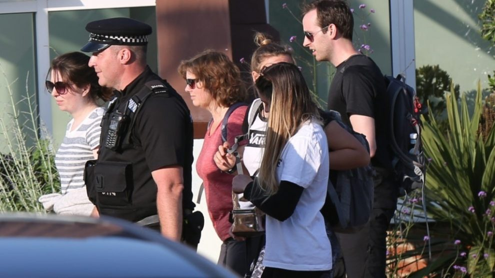 family of missing rosie johnson are shown the locations of her last know movement on the isle of wight