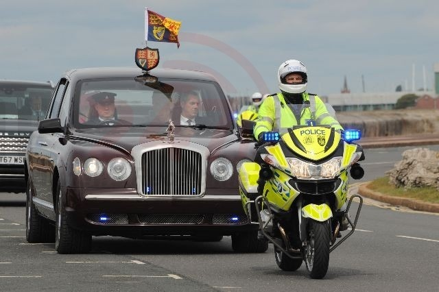 final rideout for rob given royal seal of approval in true d day style in portsmouth