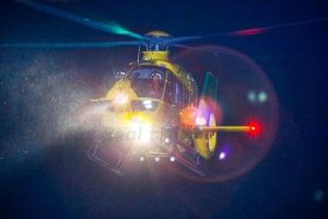hampshire and isle of wight air ambulance called to the isle of wight