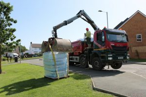 homes left without water for a second day after burst water pipe on the isle of wight