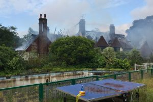jls star oritse williams 3m mansion burns to the ground