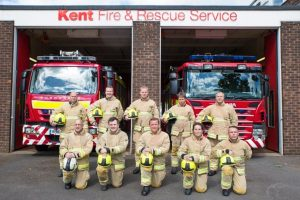 kent fire and rescue service kfrs is effective efficient and looks after its people a report has revealed