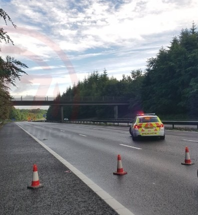 M25 Swanley Interchange Blocked Following Police Incident Causing Traffic Chaos