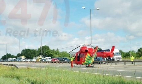 M4 Motorway Remains Closed Following Serious Collision