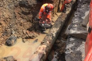 major water leak puts hayling island no go