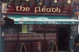 man arrested for murder after man head is smashed on to table at the fleadh in harrow