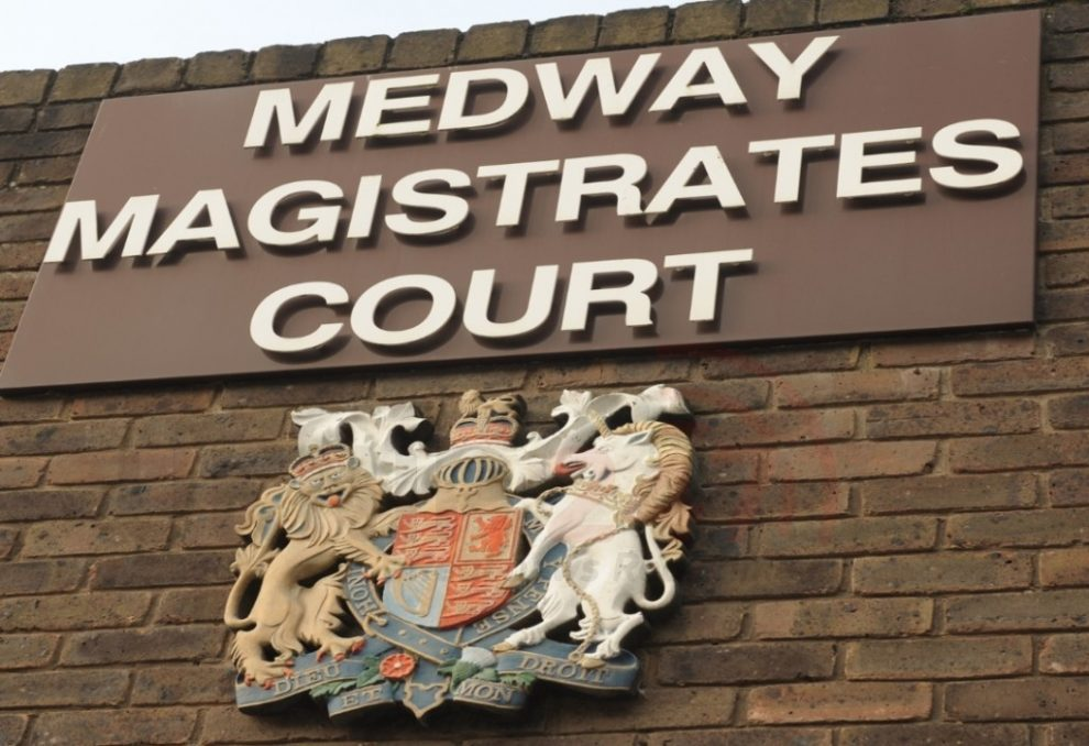man charged with strood shop robbery