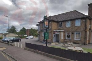 man left with fractured skull after basingstoke pub attack