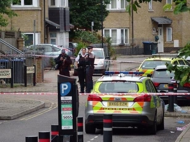 man stabbed outside willesden magistrates court