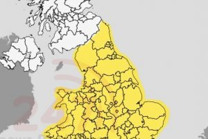 Met Office Issue New Yellow Weather Warning For Thunder Across Most Parts Of The Uk