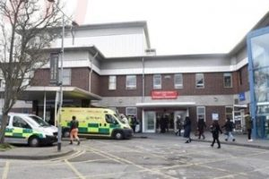 newham hospital worker stabbed multiple times with a pair of scissors