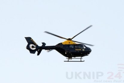 Police Air Support Sees Motorcycle Rider Arrested After Pursuit In Lancing