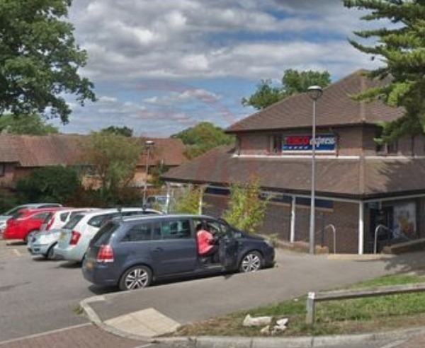 police are seeking witnesses after night time intruders entered a crawley convenience store