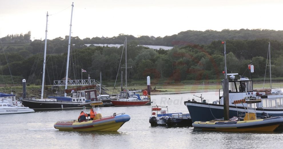 three pulled from the water by harbour master