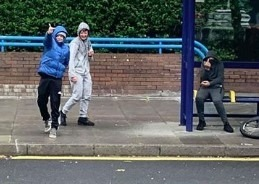 truant chav schoolboys causing cause havoc in portsmouth