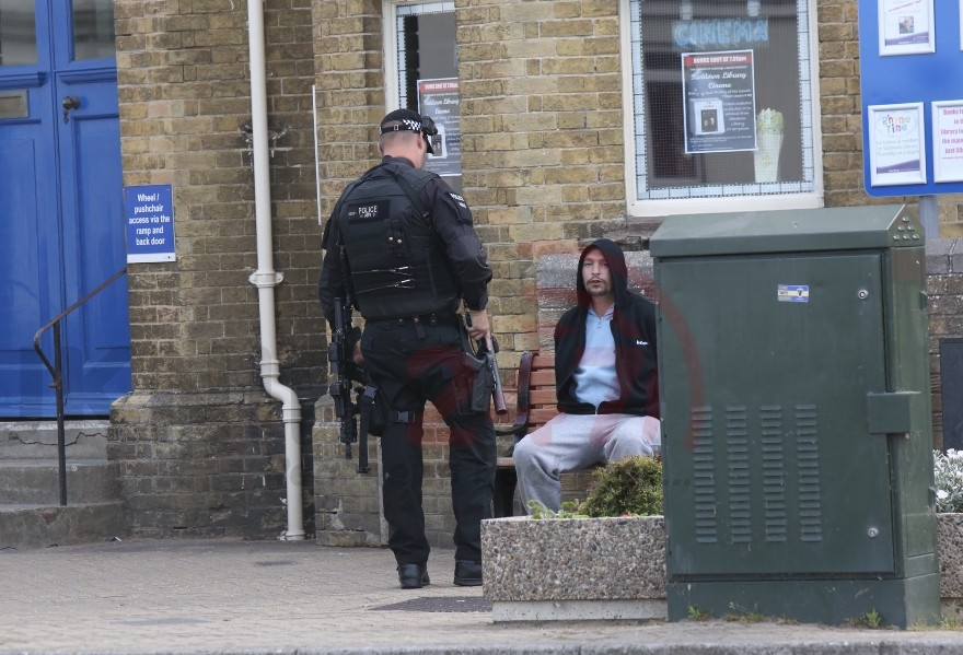 updatedarmed police called to incident in sandown on the isle of wight