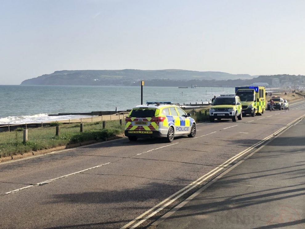 UPDATED:Coastguard called to incident at Yarverland beach on the Isle of Wight, UKNIP