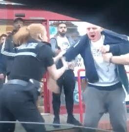 when did it become acceptable to assault a police officer