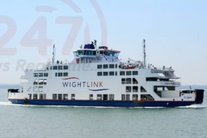 wightlink mv st clare engine problem likely to affect isle of wight festival traffic