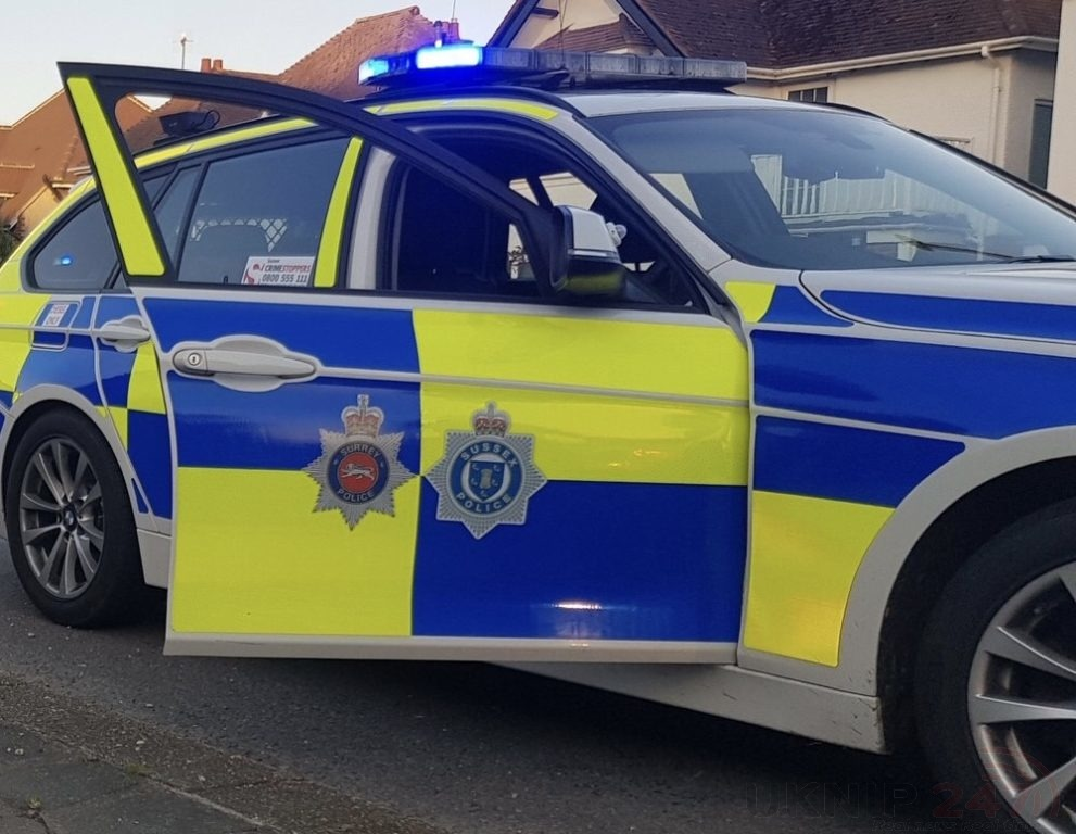 woman left critical following collision in tadworth
