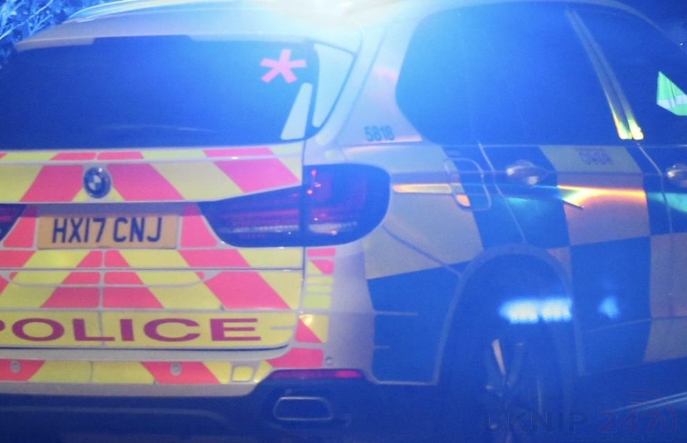 a man in his 30s has been stabbed