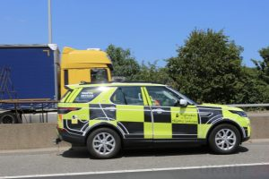 a2 coast bound two lanes closed following collision