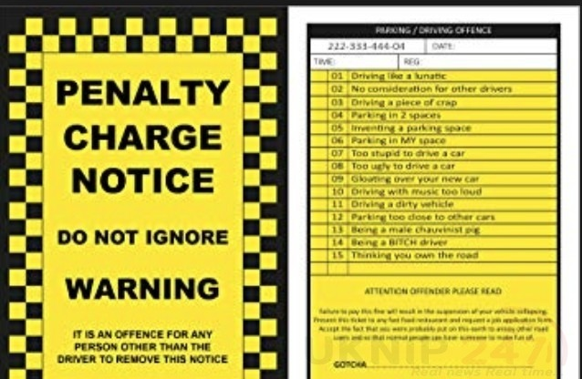 Drivers Targeted With Fake Fines