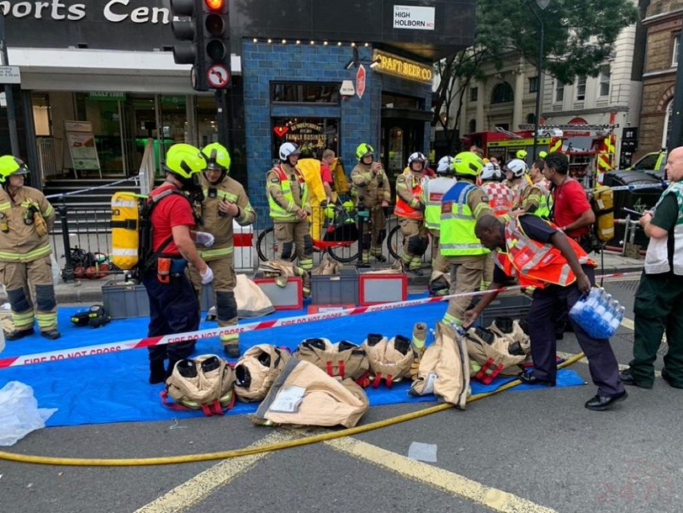 Fire crews called to chemical incident in Holborn, UKNIP