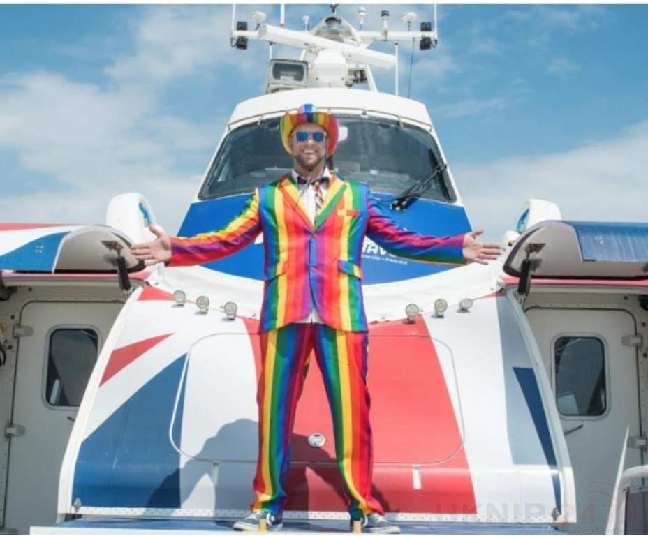 isle of wight hovertravel pilot nick wood is on their shortlist of lgbt travel pride champions for 2019