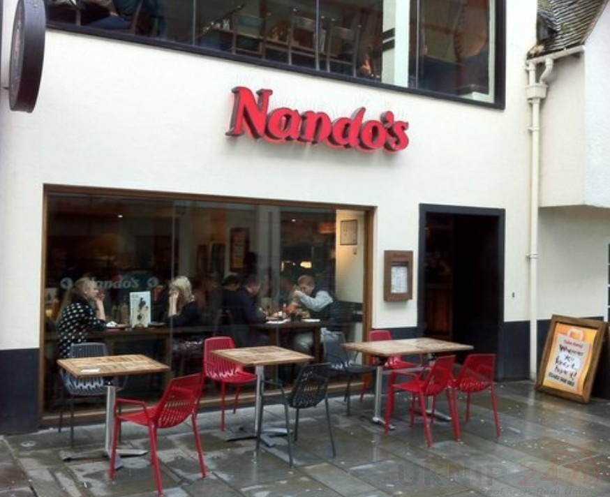 Man Arrested After Teenager Is Attacked Outside Nando's In Guildford
