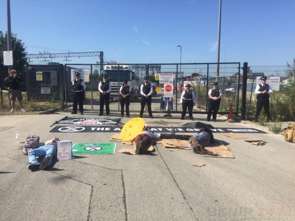 More Arrests As Police Continue To Police Extinction Rebellion