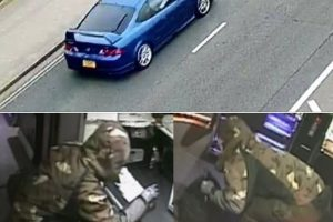 police release cctv following an aggravated burglary at the golden touch amusements in southampton