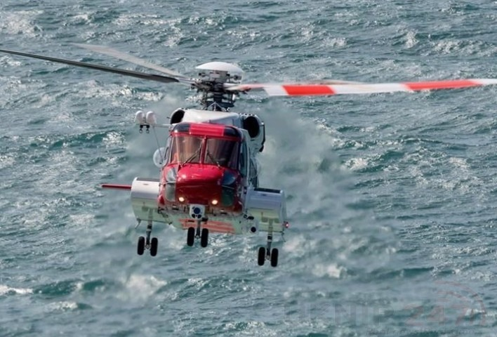 search continues for missing crewman from after falling overboard near the village of tunstall
