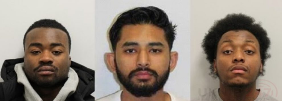 three men who carried out a brutal pre meditated attack on a young man in barking have been found guilty of his murder