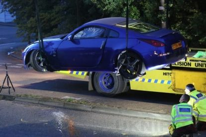 Two Cars Plough Into A Group Of People In Stevenage Injuring Twelve