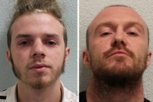 two men have been sentenced to life imprisonment for the murder of a woman in a vicious arson attack in woolwich