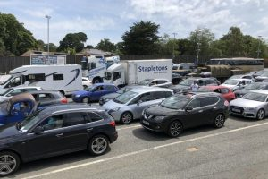 yarmouth wightlink ferry cancellations caused traffic chaos in cross solent travel