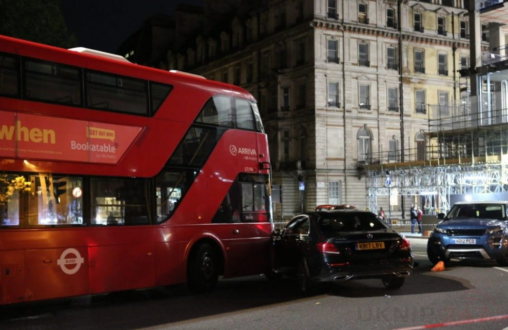 A Man Has Been Charged Following A Collision In Hyde Park Corner
