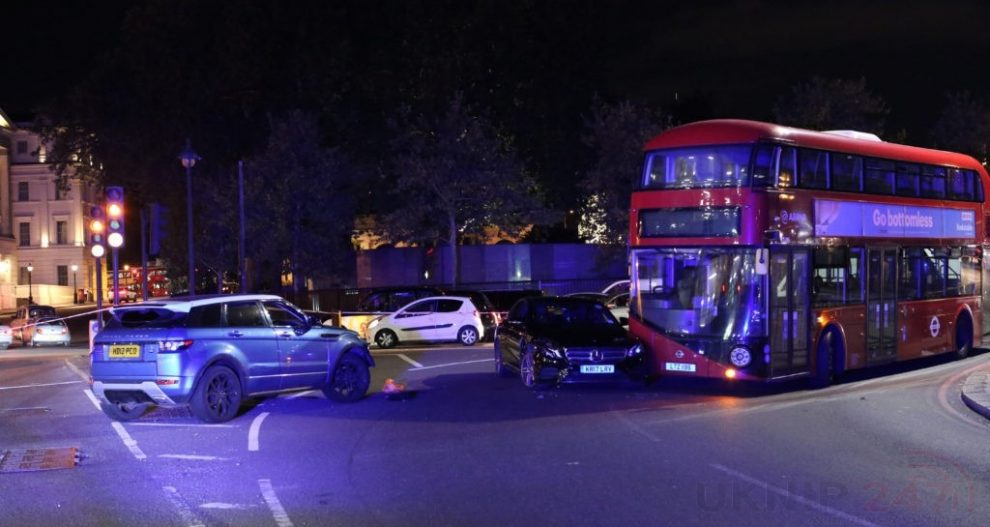 buckingham palace road rage sees taxi driver tasered and arrested